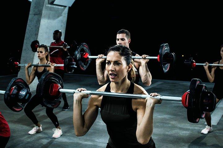Bodypump træning